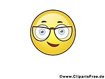 CQFD smiley clipart gratuit