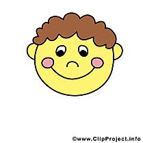 Émoticône sourire dessin gratuit à télécharger