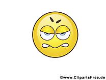 Fâché émoticône image à télécharger