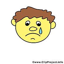 Pleure émoticône image à télécharger