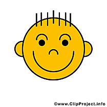 Sourire émoticône clip art gratuit