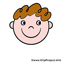 Sourire smiley dessin à télécharger