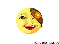 Très contente smiley clip arts gratuits
