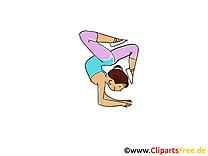 Athlétisme dessins - Fitness clipart gratuit