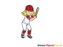 Baseball images - Sport américain clip art gratuit