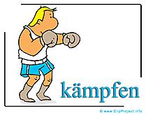 Boxe image gratuite – Boxeur clipart