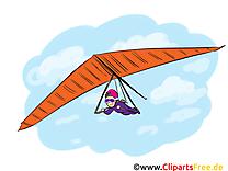 Deltaplane image à télécharger gratuite