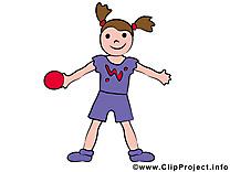 Fitness clip arts gratuits - Balle illustrations