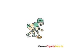 Football américain clip art – Ballon image