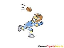Football américain dessin gratuit