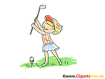 Golf images - balle dessins gratuits
