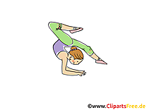 Gymnastique dessin gratuit - Athlétisme image