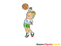 Hand-ball illustration à télécharger gratuite