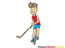 Hockey de rue image gratuite cliparts