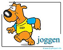Jogging image gratuite - Course cliparts