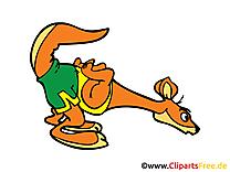 Kangourou dessin gratuit - Course image gratuite