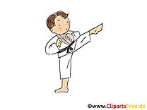 Karaté image à télécharger - Arts martiaux clipart