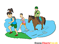 Marathon image gratuite – cheval clipart