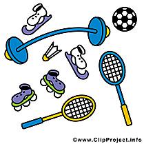 Matériel de sport clip art gratuit à télécharger