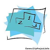 Piédestal clip arts gratuits - Places illustrations