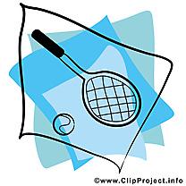 Raquette dessin à télécharger - Tennis images