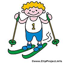 Ski image gratuite - Sport d'hiver cliparts
