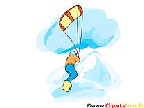 Snowboard image à télécharger - Sport d'hiver clipart