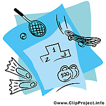 Sport clipart gratuit - Équipement images
