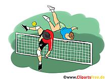 Tennis-ballon dessins - Futnet clipart gratuit