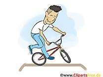 Vélo de sport dessin gratuit à télécharger