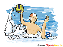 Water-polo image à télécharger - Sport clipart