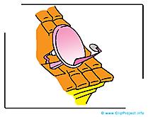 Antenne clip arts gratuits - Toit illustrations