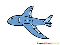 Avion clip arts gratuits illustrations