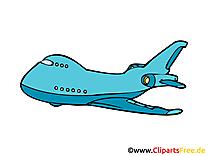 Avion de ligne image gratuite clipart