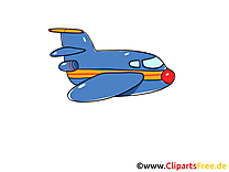 Avion illustration gratuite clipart