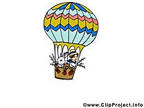 Balllon pâques image à télécharger gratuite