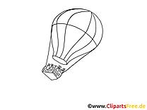 Ballon dessins gratuits à imprimer