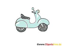 Moto dessin gratuit à télécharger