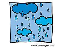 Averse dessin gratuit - Pluie image gratuite