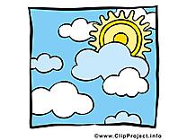 Beau temps image à télécharger - Soleil clipart