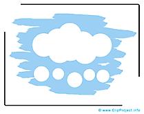Ciel illustration - Nuages images gratuites