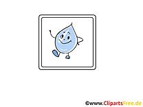 Goutte d'eau dessins gratuits - Pluie clipart