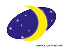 Lune illustration à télécharger gratuite