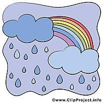 Mauvais temps illustration - Pluie images gratuites