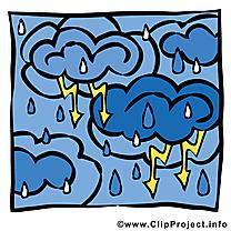 Nuée d'orage images - Pluie dessins gratuits