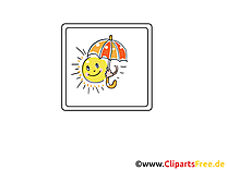 Parasol clip art gratuit – Soleil images gratuites