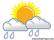 Pluie image gratuite - Nuages illustration