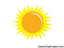 Soleil clip arts gratuits à télécharger