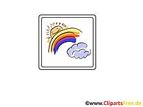 Temps dessin à télécharger - Acr-en-ciel images