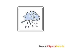Temps pluvieux clipart gratuit - Pluie dessins